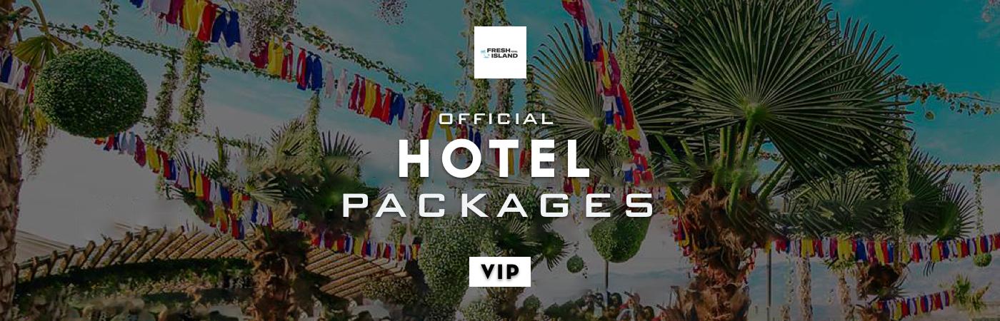 Packages Billet VIP + Hôtel - Fresh Island Festival