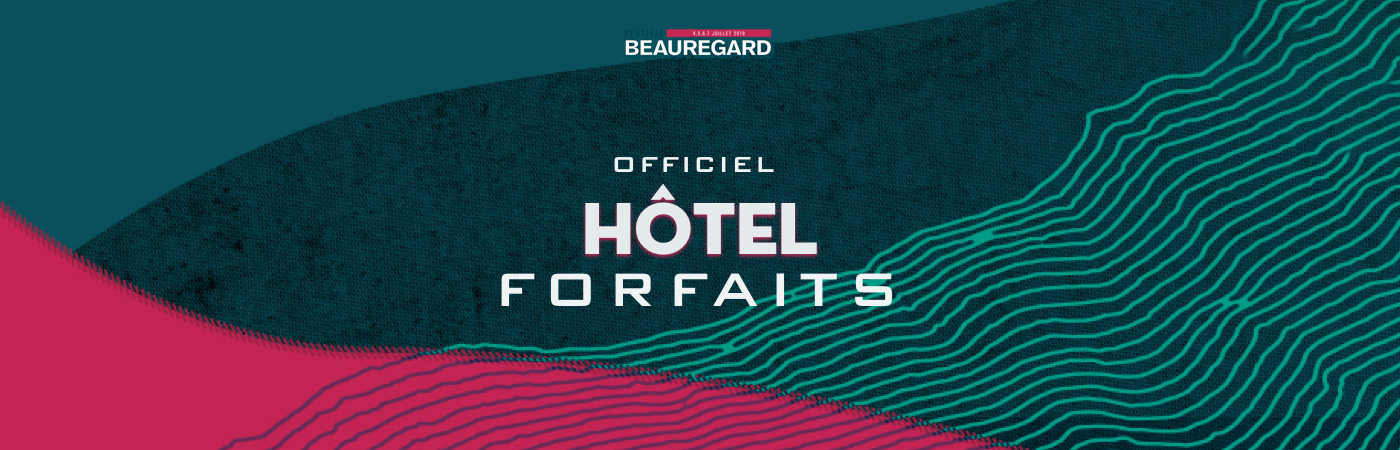 Festival Beauregard Ticket + Hotel Packages