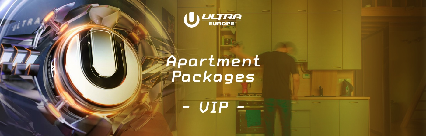 Ultra Europe VIP-Ticket- + Ferienwohnungs-Pakete