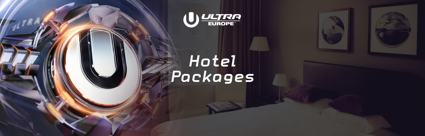 Ultra Europe Ticket- + Hotel-Pakete