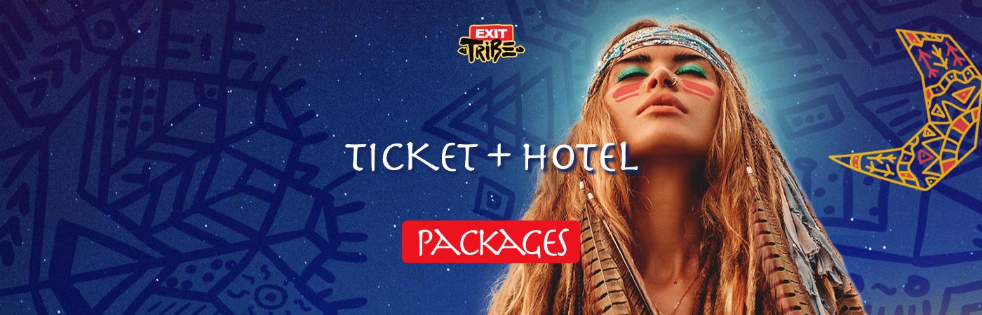 EXIT Ticket- + Hotel-Pakete