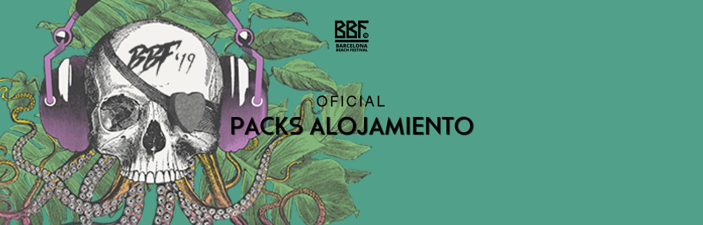Packs VIP Entrada + Alojamiento BBF: Barcelona Beach Festival