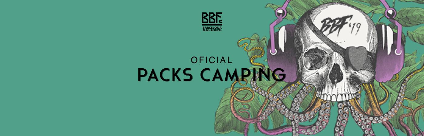 Packs Entrada + Camping BF: Barcelona Beach Festival