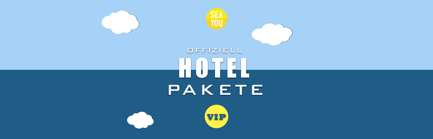 Sea You Festival VIP Ticket + Hotel Packages