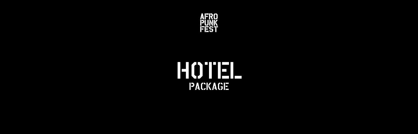 Afropunk Paris Ticket + Hotel Package