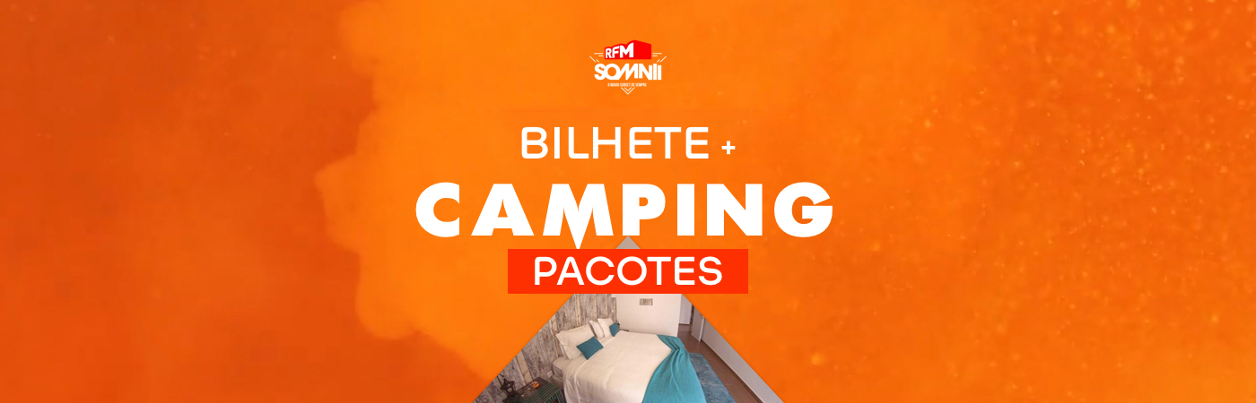 RFM SOMNII Ticket + Camping Packages