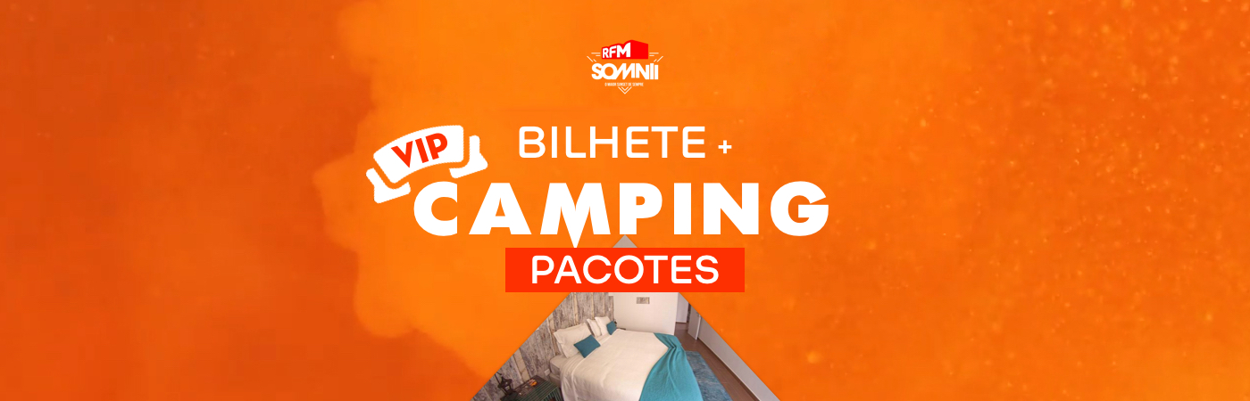 RFM SOMNII VIP Ticket + Camping Packages