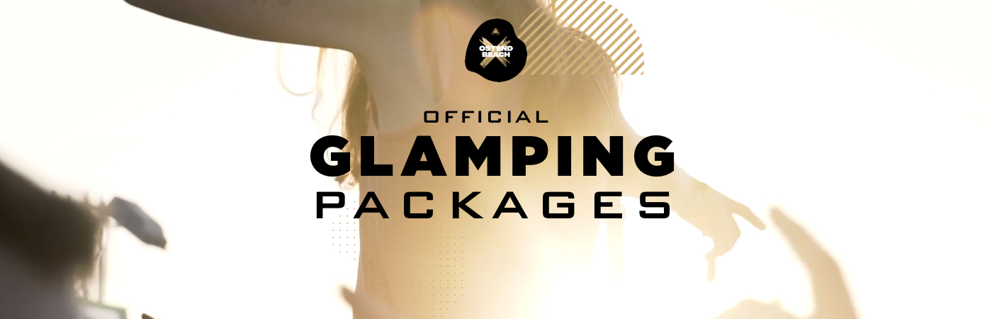 Packages Billet + Glamping - Ostend Beach Festival