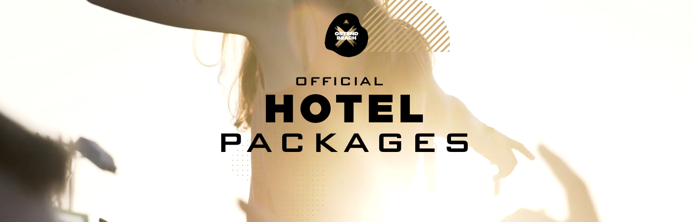 Packages Billet + Hôtel - Ostend Beach Festival