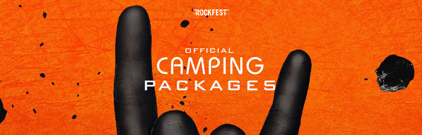 Rock Fest Ticket + Camping Packages