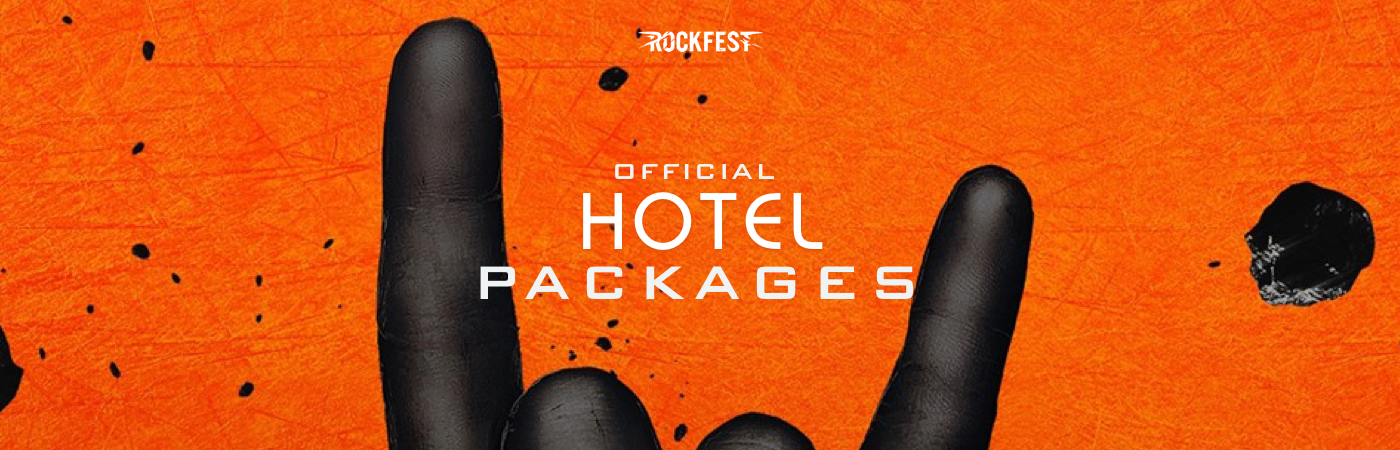 Rock Fest Ticket + Hotel Packages
