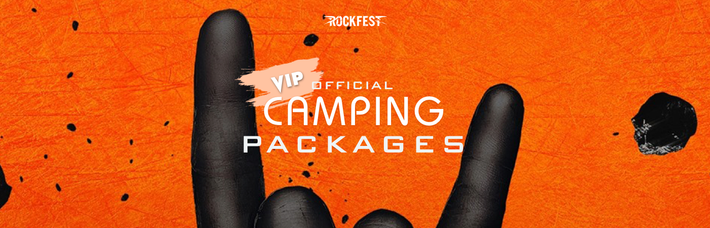 Rock Fest VIP Ticket + Camping Packages