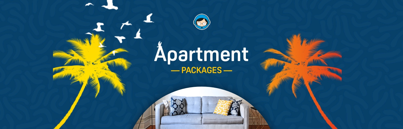 FIB Ticket + Apartment Packages