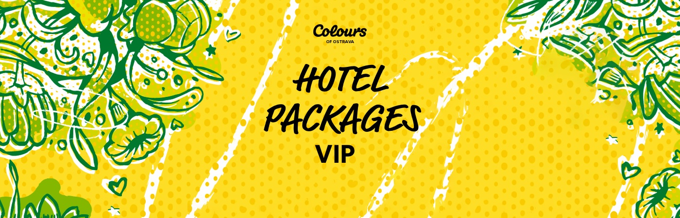 Colours of Ostrava VIP-Ticket- + Hotel-Pakete