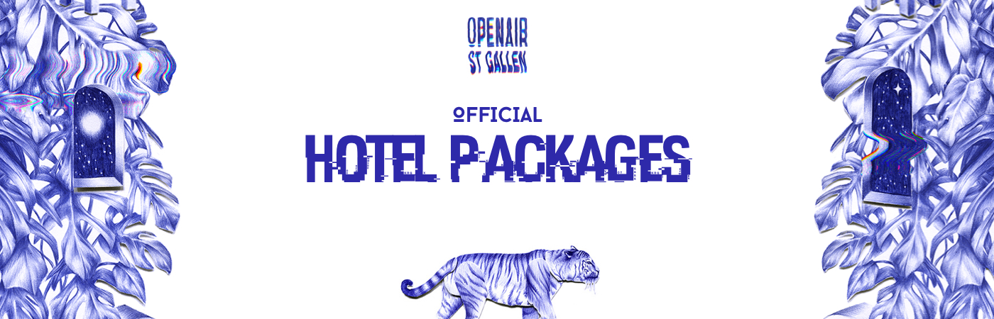 OpenAir St.Gallen Ticket + Hotel Packages