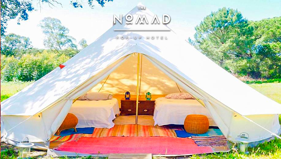 Ticket + Superior Pack - Glamping Nomad Pop-Up @ Meo Sudoeste