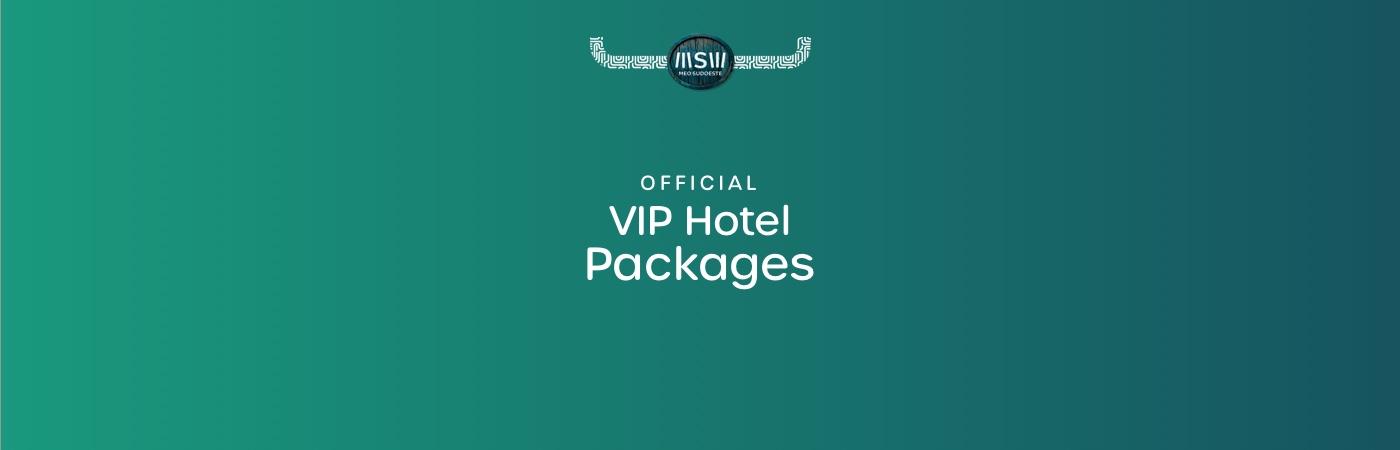 Pacotes VIP com Hotel MEO Sudoeste