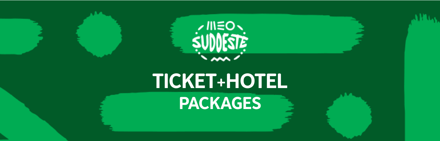 Packages Billet + Hôtel - MEO Sudoeste