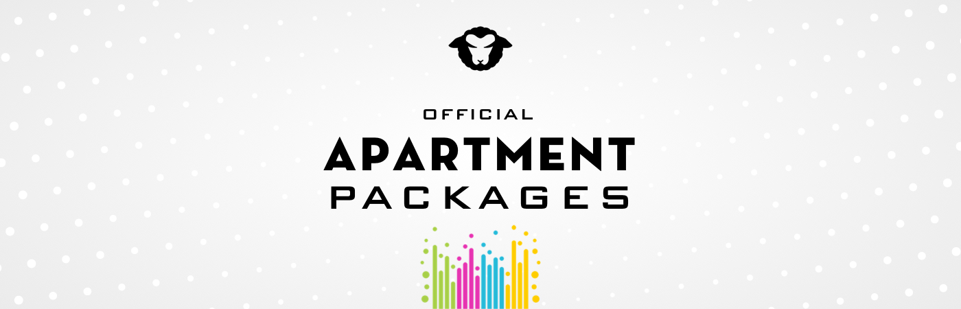 Black Sheep Festival Ticket + Apartment Packages