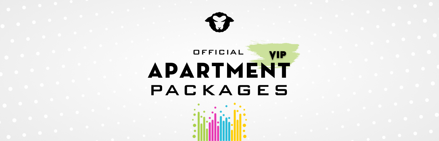 Black Sheep Festival VIP Ticket + Apartment Packages