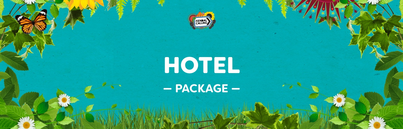 Kendal Calling Ticket + Hotel Packages