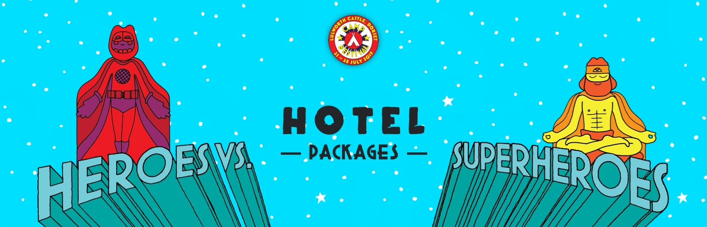 Camp Bestival Ticket + Hotel Packages