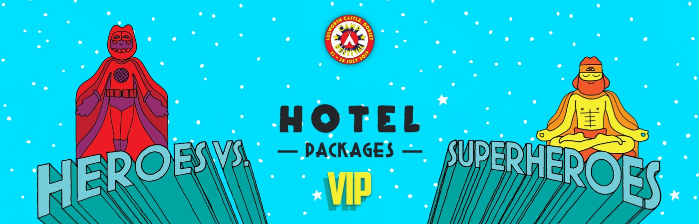 Camp Bestival VIP Ticket + Hotel Packages