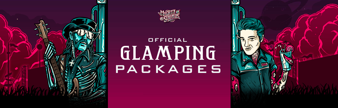 Mighty Sounds Festival - Volume 15 Ticket + Glamping Packages