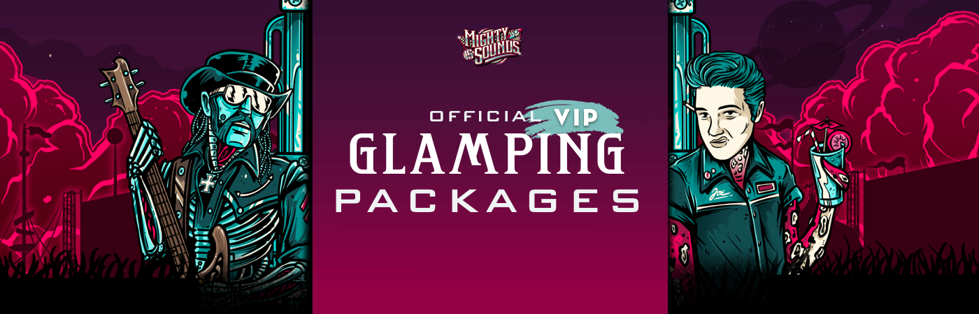 Mighty Sounds Festival - Volume 15 VIP-Ticket- + Glamping-Pakete