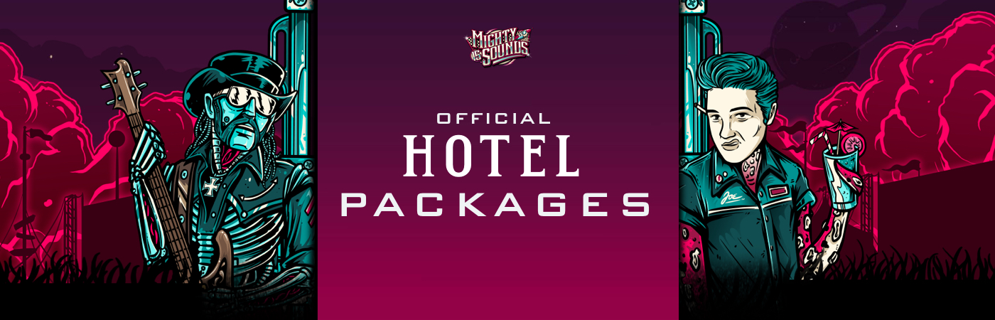 Mighty Sounds Festival - Volume 15 Ticket- + Hotel-Pakete