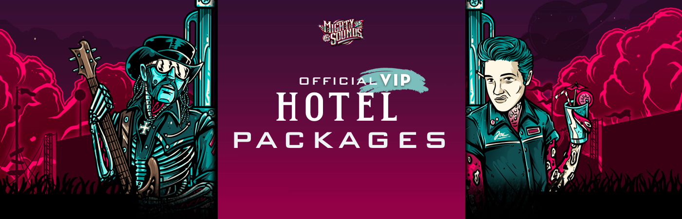 Mighty Sounds Festival - Volume 15 VIP-Ticket- + Hotel-Pakete