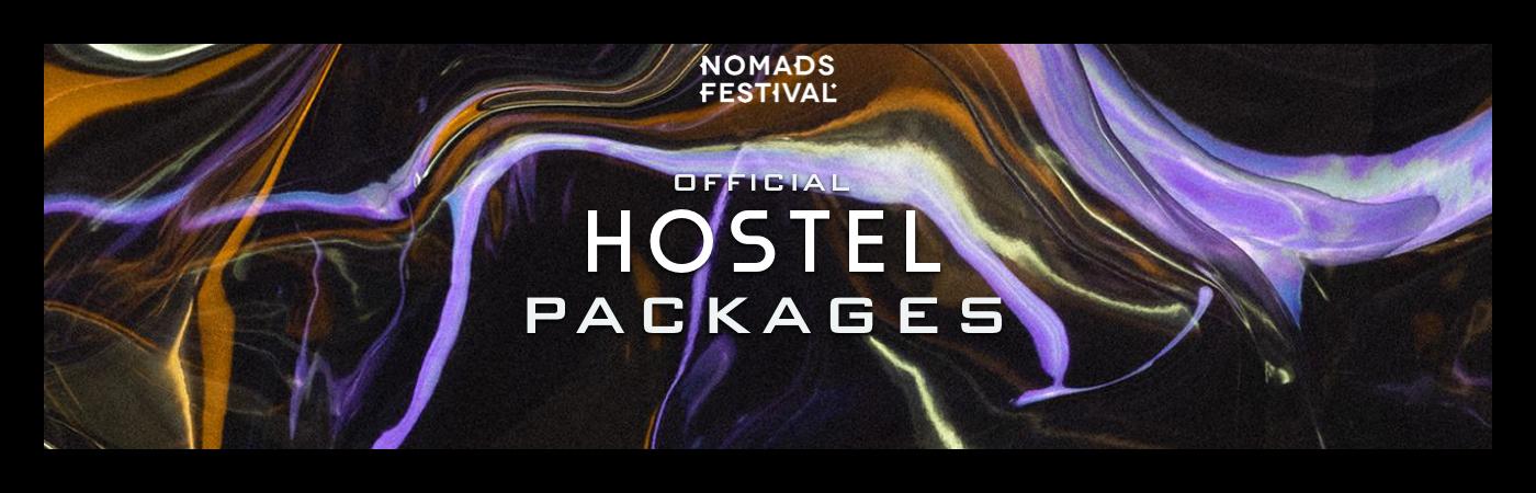 Nomads Festival Ticket + Hostel Pakketten