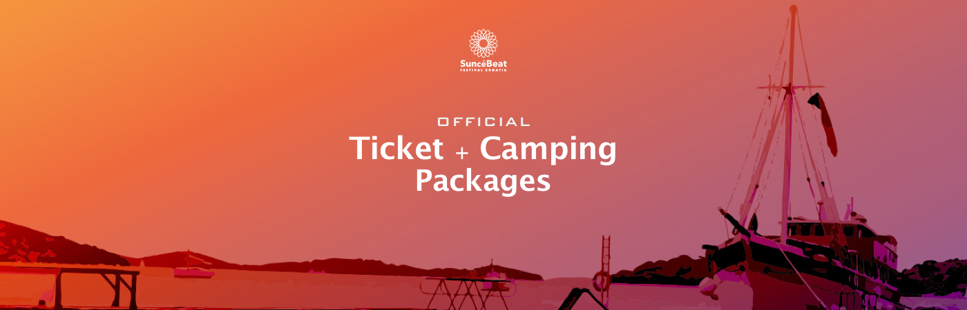 SuncéBeat Ticket + Camping Packages