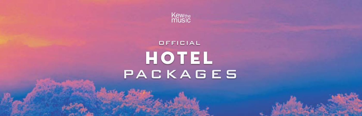 Kew The Music Ticket + Hotel Packages