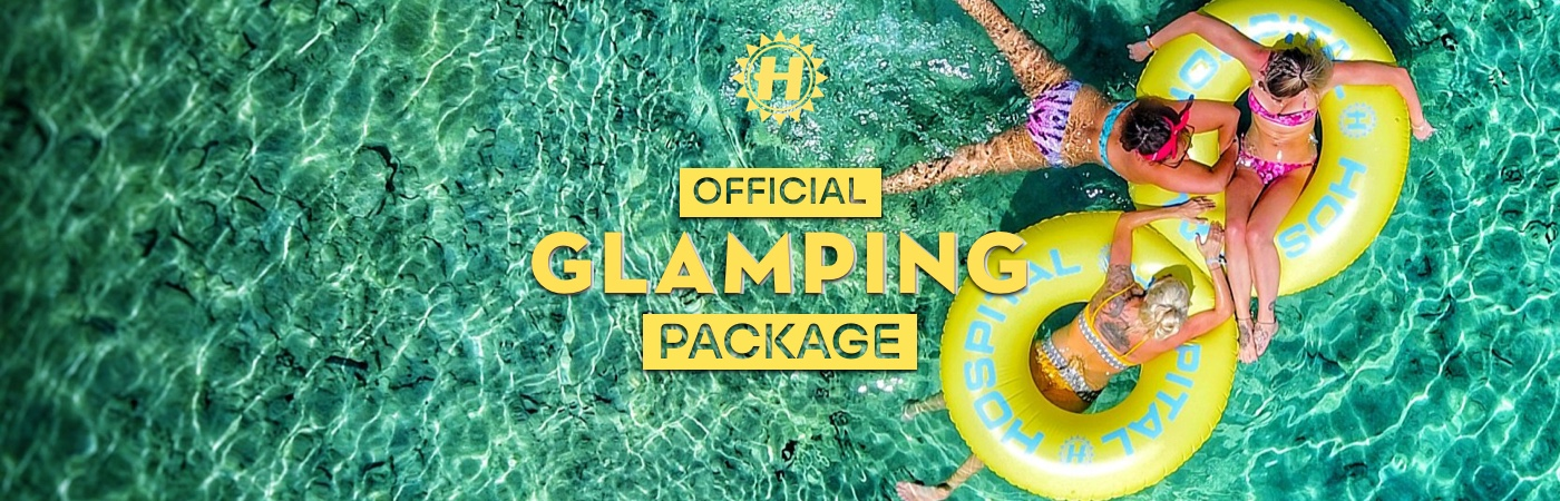 Hospitality on the Beach Ticket + Glamping Packages