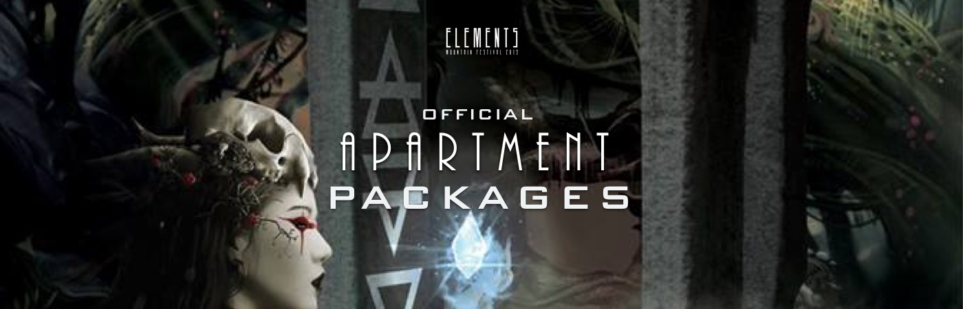 Elements Mountain Festival Ticket + Apartment Packages
