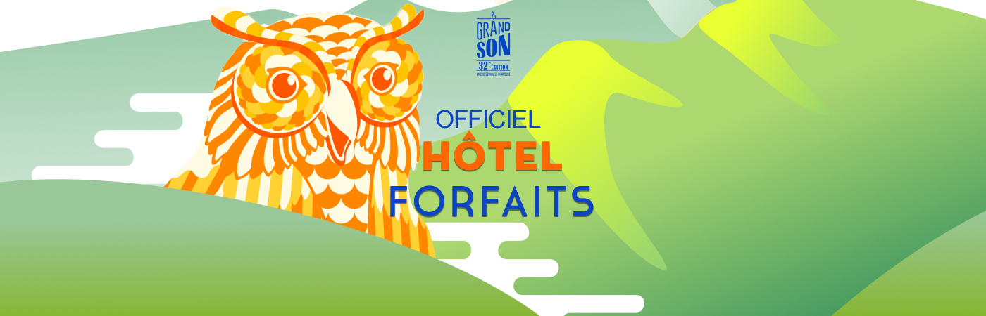 Festival Le Grand Son Ticket + Hotel Packages