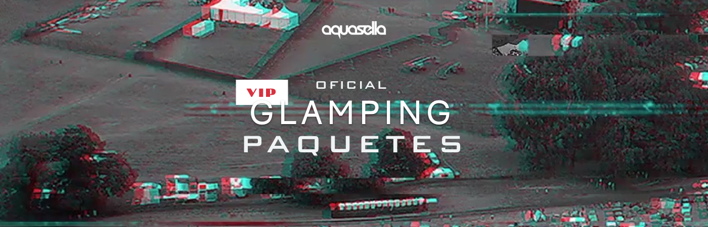 Aquasella Festival VIP Ticket + Glamping Packages