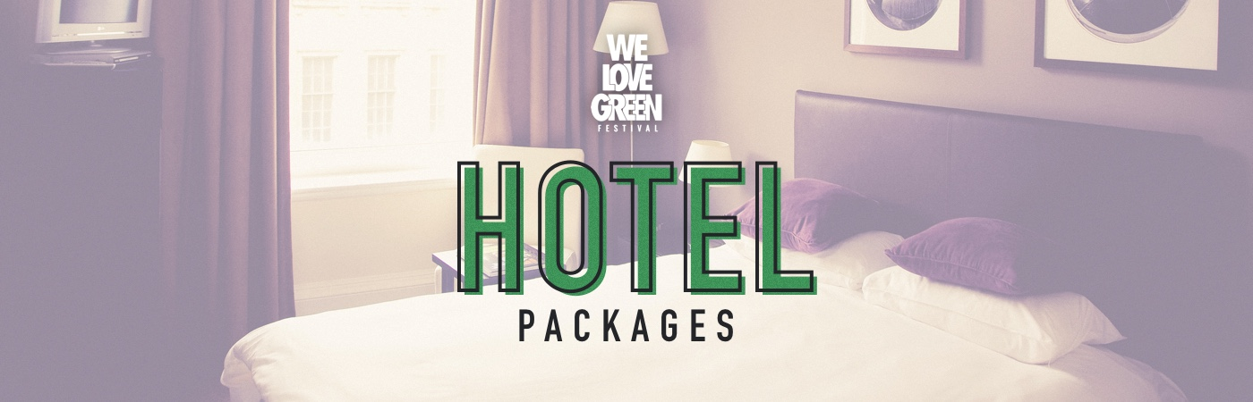 We Love Green Ticket + Hotel Package