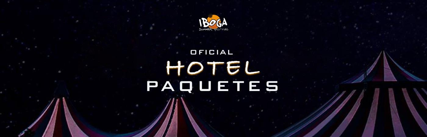 Packs Entrada + Hotel Iboga Summer Festival