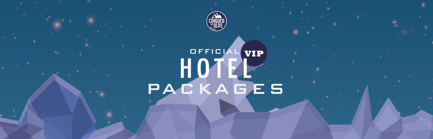 Conquer the Alps VIP Hotel Packages
