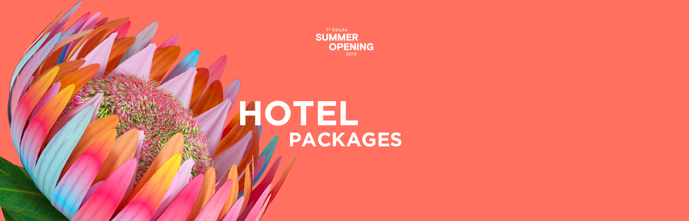 Summer Opening Festival: Pacotes com Bilhete + Hotel