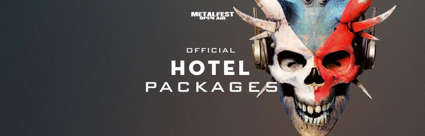 Metalfest Open Air Ticket + Hotel Packages
