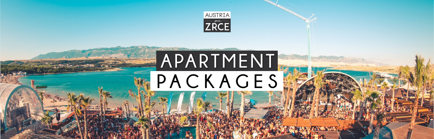 Austria Goes Zrce Ticket + Apartment Packages