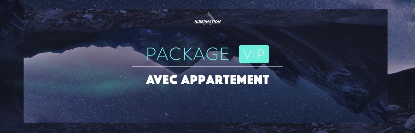 Hibernation Festival 2019 VIP Apartment Packages