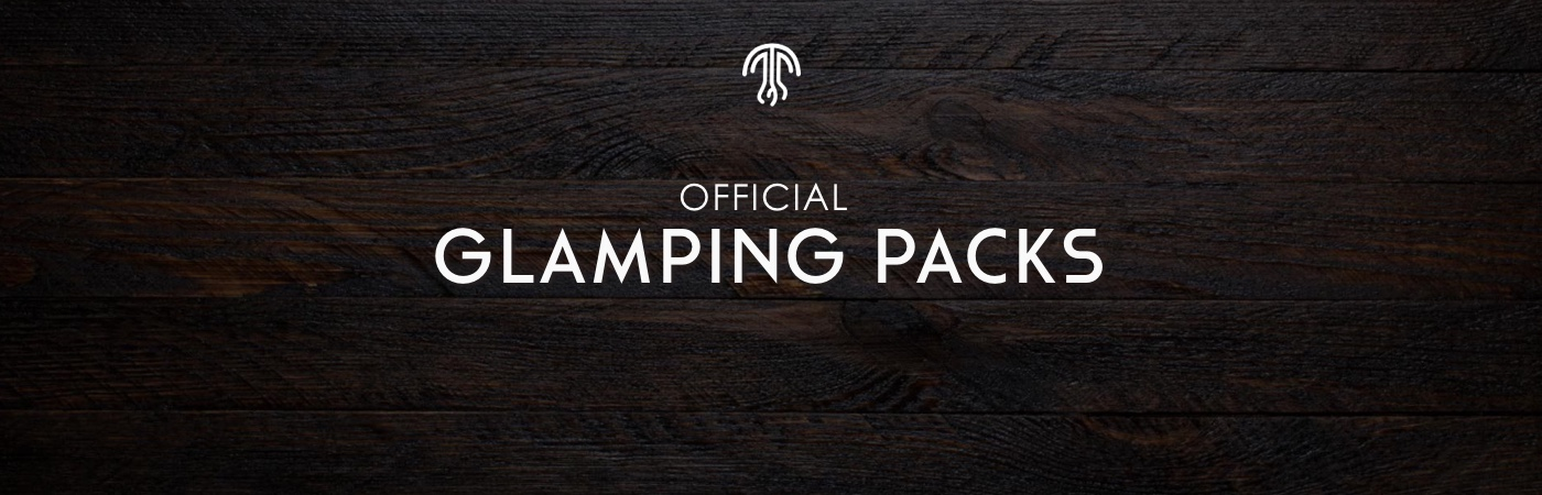 Medusa Camping Ticket + Glamping Package