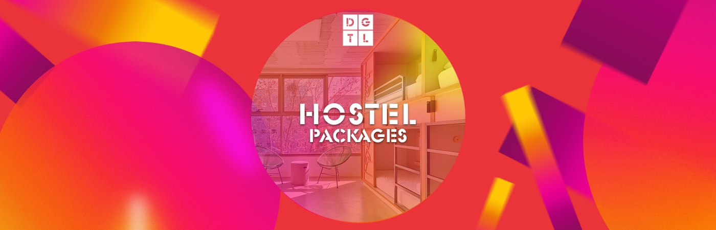 DGTL Barcelona Ticket + Official DGTL Barcelona Hostel