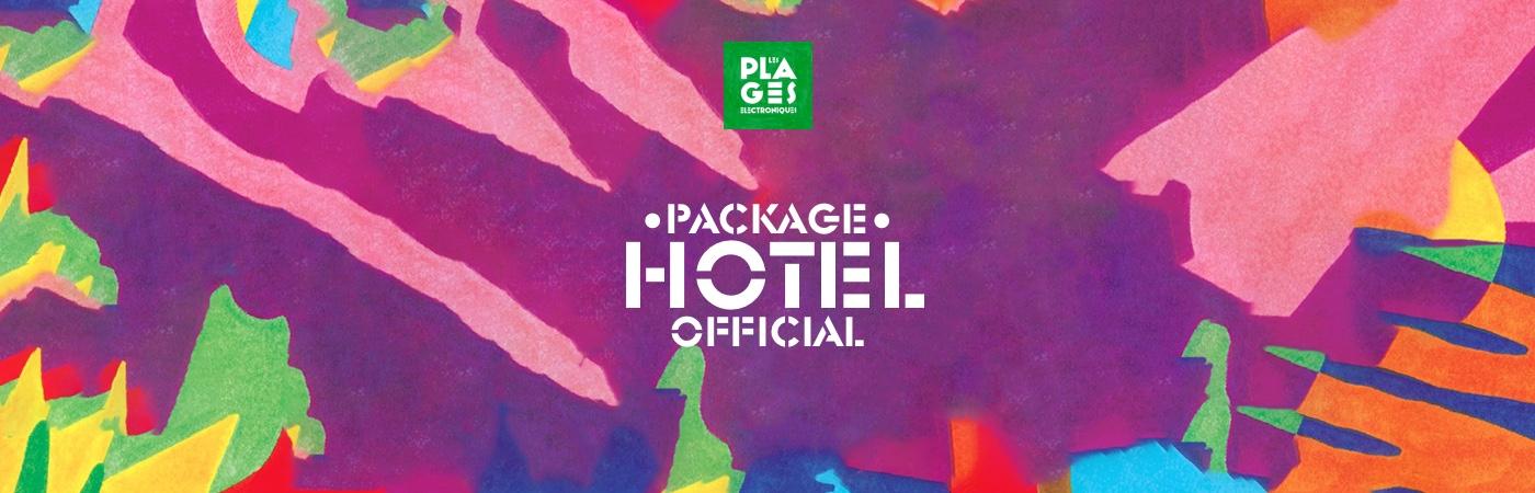 Packages Billet + Hôtel - Les Plages Électroniques