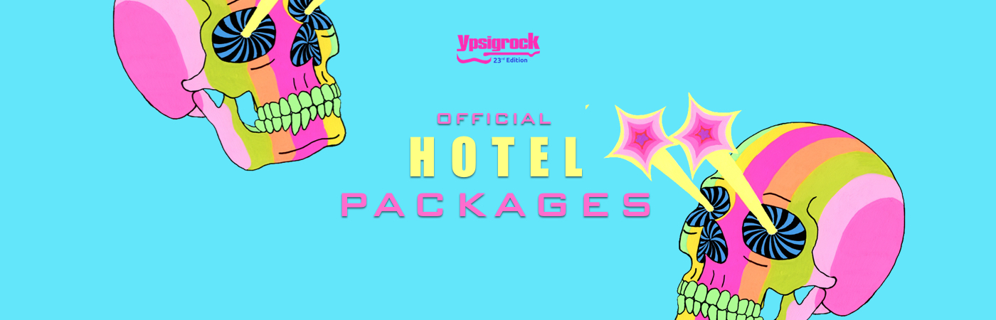 Ypsigrock Ticket + Hotel Packages