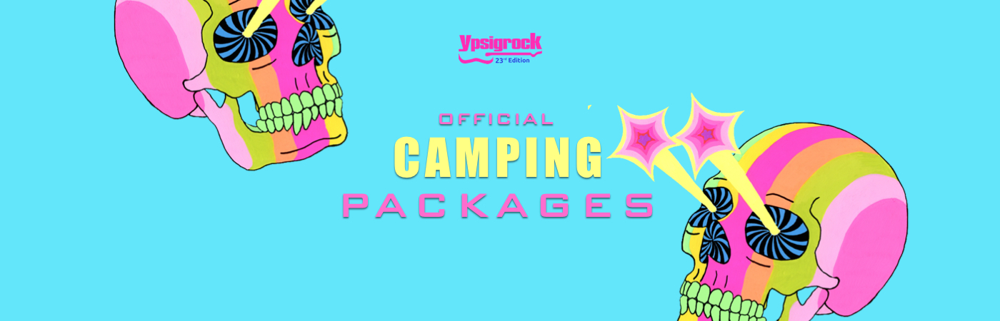 Ypsigrock Festival Ticket + Camping packages